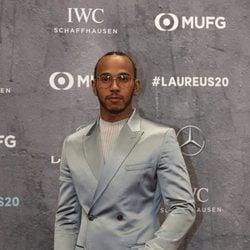 Lewis Hamilton en los Premios Laureus 2020