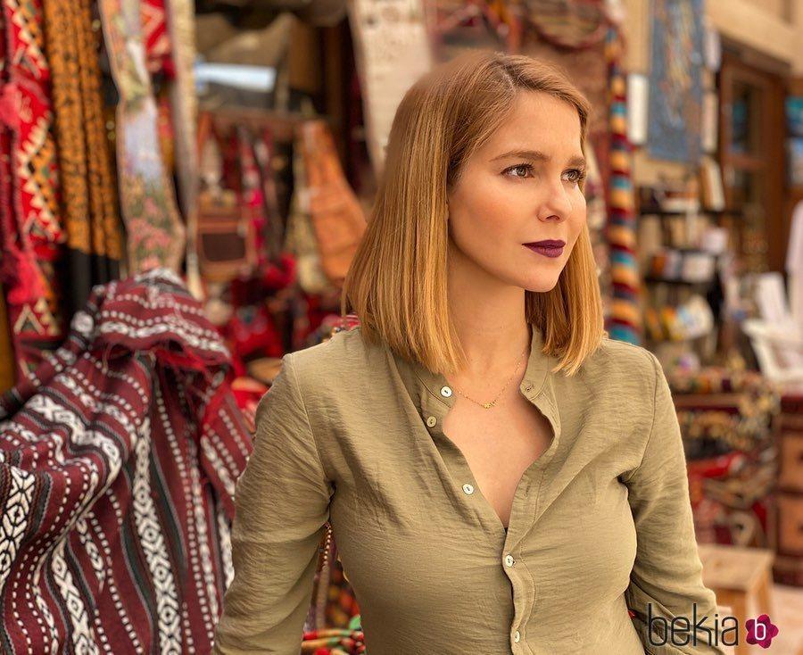 Natalia Sánchez, de vacaciones en Dubai