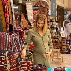 Natalia Sánchez presume de segundo embarazo en Dubai