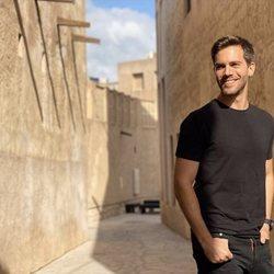 Marc Clotet, de vacaciones en Dubai