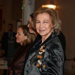 La Reina Sofía en el concierto de la Fundación Francisco Luzón de Lucha contra la ELA