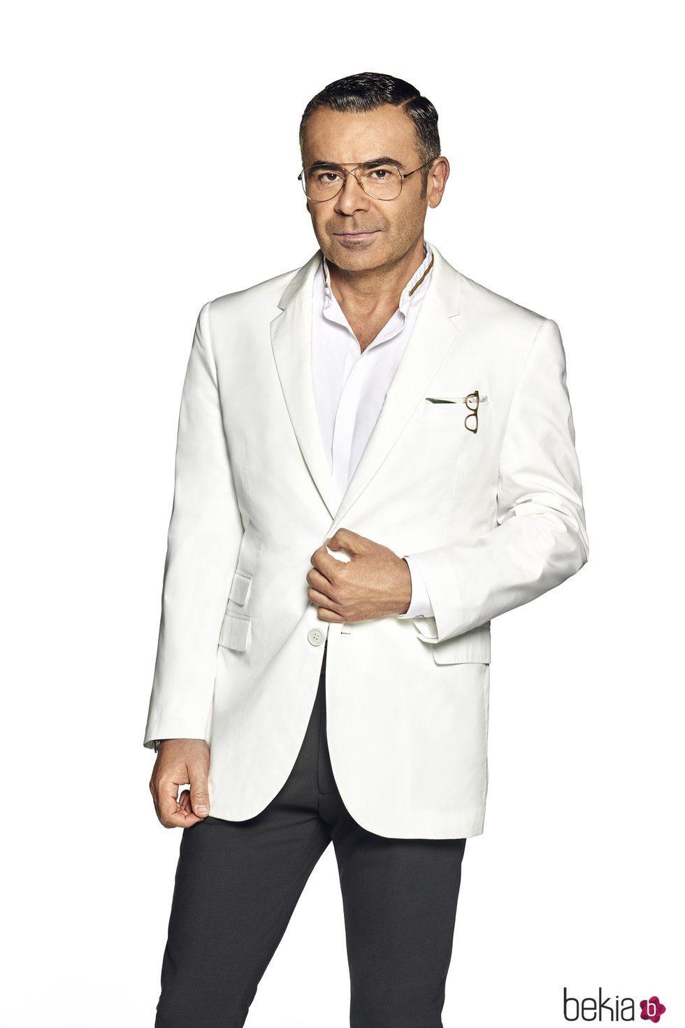 Jorge Javier Vázquez en la foto oficial como presentador de 'Supervivientes 2020'