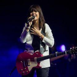 Vanesa Martín en su concierto en Madrid de la gira 'Todas las mujeres que habitan en mi tour'