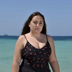Rocío Flores en la playa en la foto oficial de 'Supervivientes 2020'