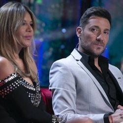Ivonne Reyes y Antonio David Flores en la gala de estreno de 'Supervivientes 2020'