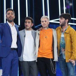 Bruno, Hugo y Rafa, nominados de la Gala 6 de 'OT 2020'