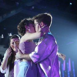 Anne y Gèrard se besan tras la expulsión de ella en la Gala 6 de 'OT 2020'