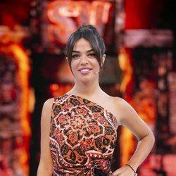 Violeta Mangriñán en el estreno de 'Supervivientes: Conexión Honduras'