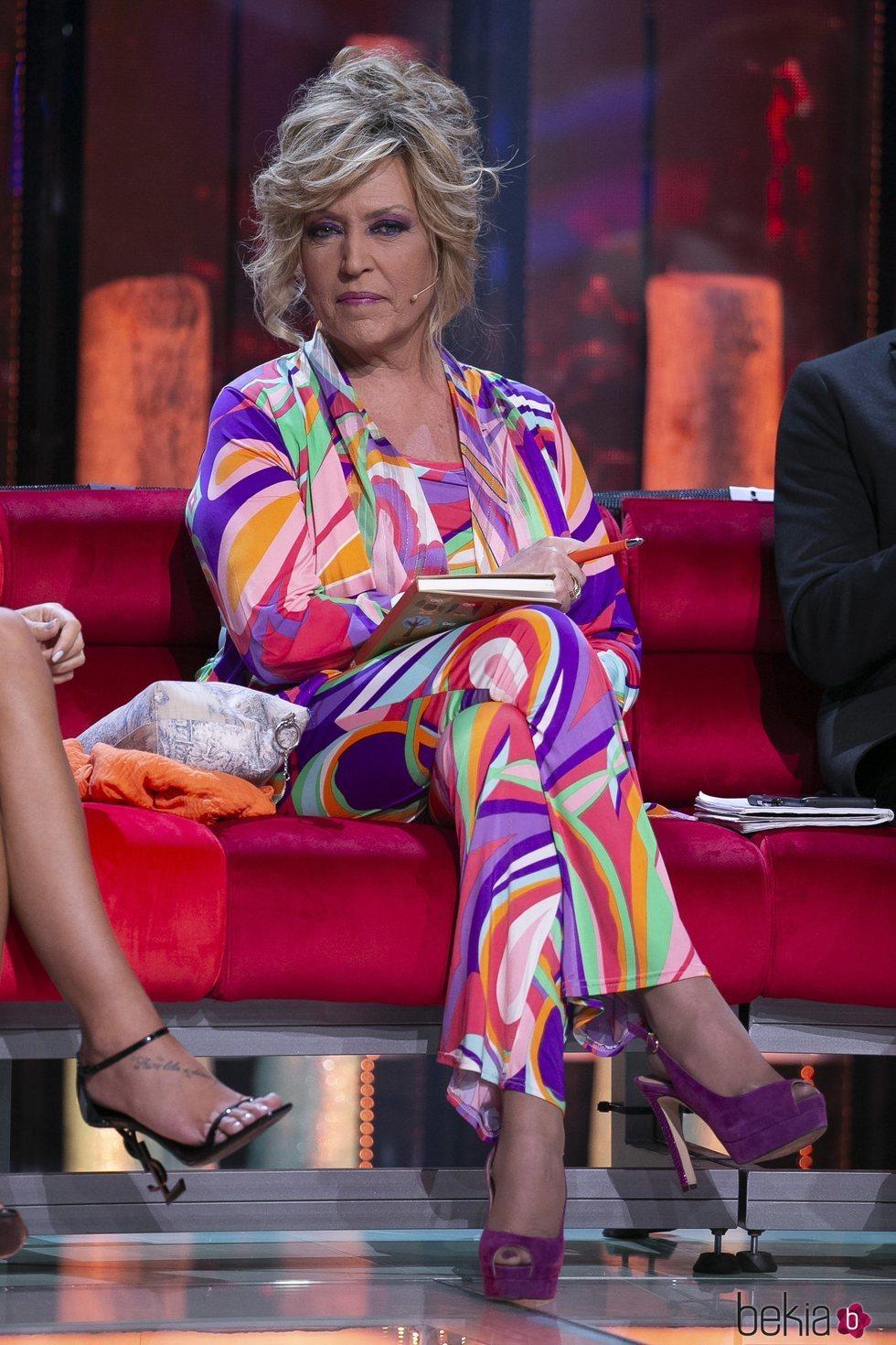 Lydia Lozano durante el primer debate de 'Supervivientes: Conexión Honduras'