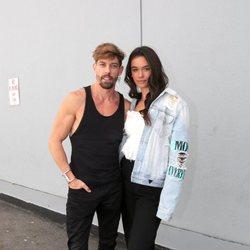 Adrián Lastra y Clara Chaín posando en la final de 'MQB All Stars'