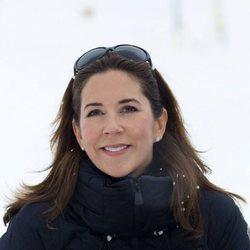 Mary de Dinamarca de vacaciones en la nieve