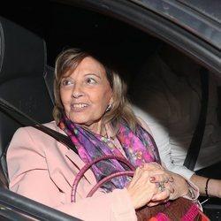 María Teresa Campos llega a su casa tras la mudanza de Bigote Arrocet