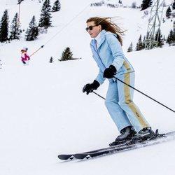 Eloísa de Orange-Nassau esquiando en Lech