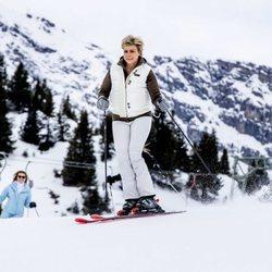Laurentien de Holanda esquiando en Lech