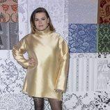 Camille Gottlieb en la presentación de la colección otoño/invierno 2020/2021 de Alter Designs en la Paris Fashion Week