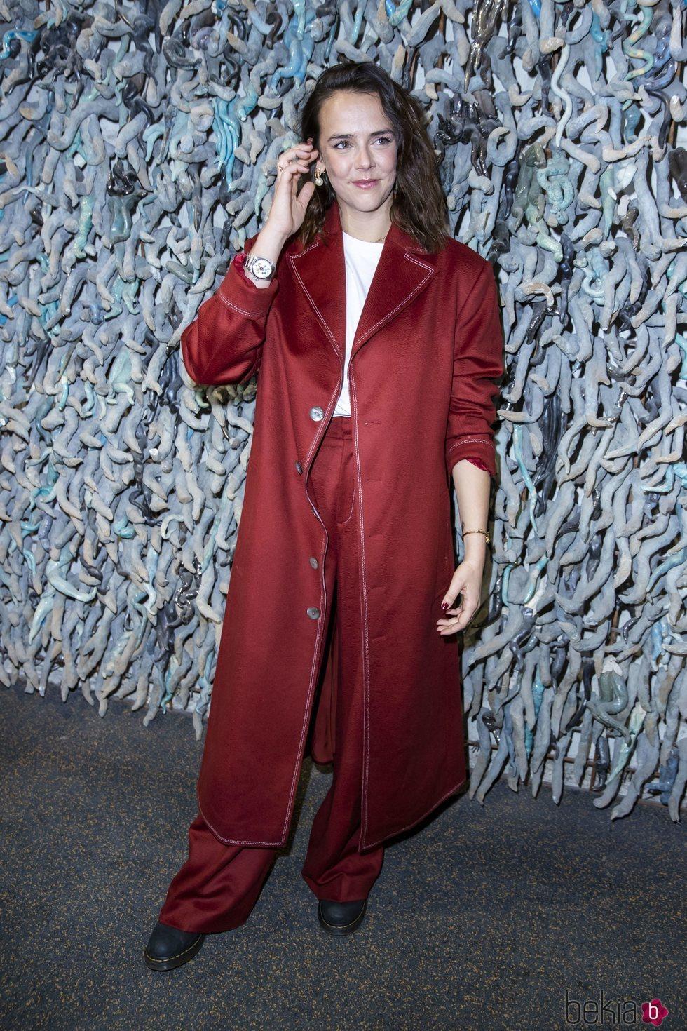 Pauline Ducruet en la presentación de la colección otoño/invierno 2020/2021 de Alter Designs en la Paris Fashion Week