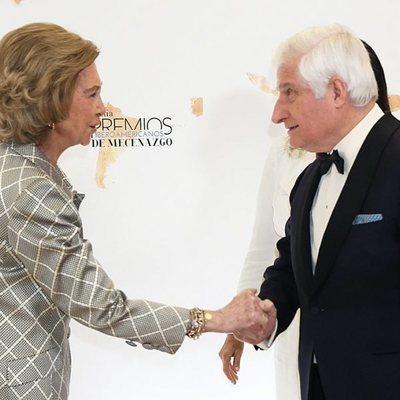La Reina Sofía y el Duque de Alba en los Premios Iberoamericanos de Mecenazgo de la Fundación Callia