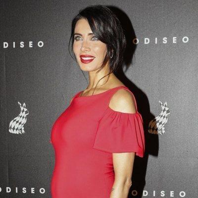 Pilar Rubio presumiendo de su cuarto embarazo en la inauguración del Casino Odiseo