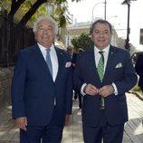 Los del Río llegando la entrega de Medallas de Andalucía 2020