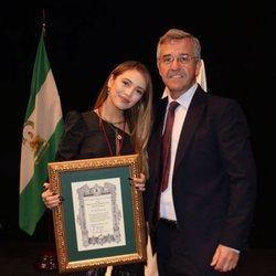 Ana Mena, nombrada Hija Predilecta de Estepona