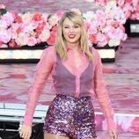 Taylor Swift durante uno de sus conciertos en Nueva York