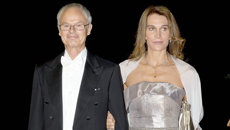 Álvaro de Orleans-Borbón y Antonella Rendina