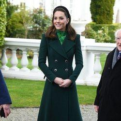 Kate Middleton en su visita oficial a Irlanda