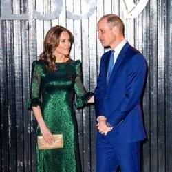 El Príncipe Guillermo y Kate Middleton en la Guinness Storehouse de Dublín