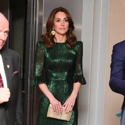 Kate Middleton en la Guinness Storehouse de Dublín