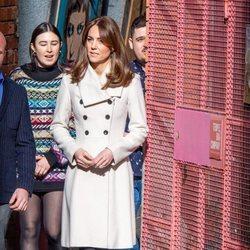 Kate Middleton en Jigsaw en su visita oficial a Irlanda