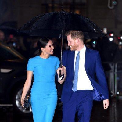 El Príncipe Harry y Meghan Markle, muy enamorados en su reaparición tras el Sussexit