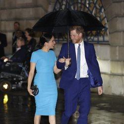 El Príncipe Harry y Meghan Markle, muy cómplices en los Endeavour Fund Awards 2020