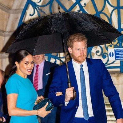 El Príncipe Harry y Meghan Markle en los Endeavour Fund Awards 2020