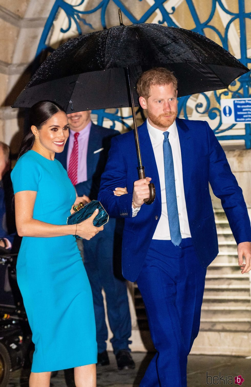 El Príncipe Harry y Meghan Markle en los Endeavour Fund Awards 2020