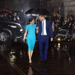 El Príncipe Harry y Meghan Markle en su primera aparición conjunta tras el Sussexit