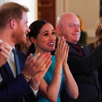 El Príncipe Harry y Meghan Markle, emocionados en los Endeavour Fund Awards 2020