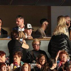 Kiko Rivera, Raquel Bollo y Luis Rollán entre los asistentes del concierto de Isabel Pantoja
