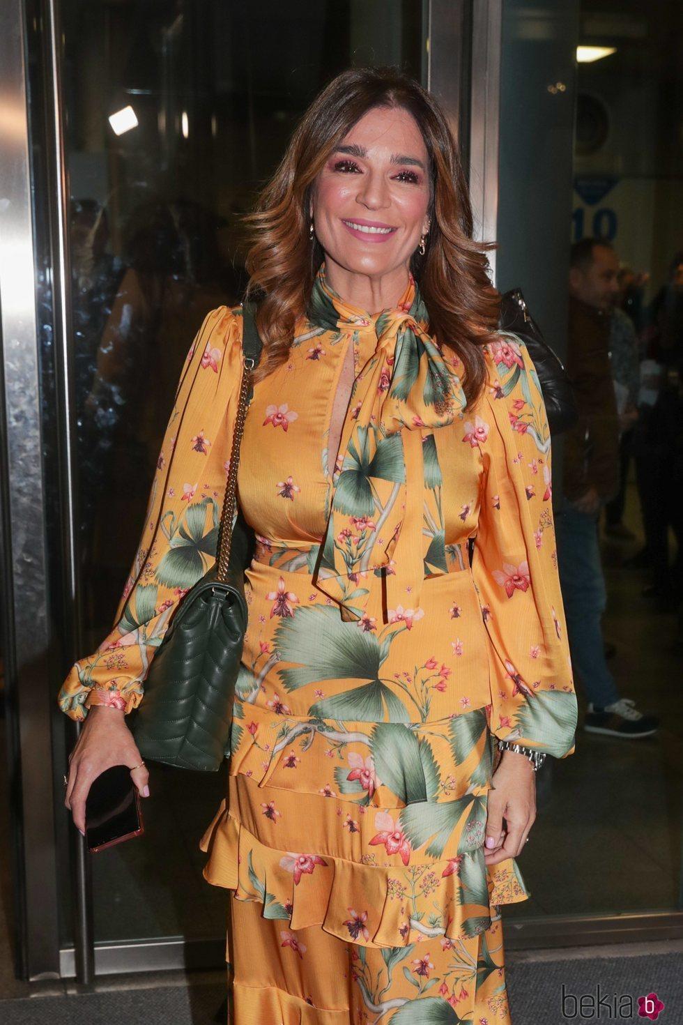 Raquel Bollo en el concierto de Isabel Pantoja en Madrid