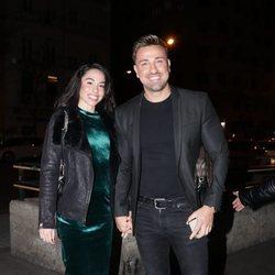 Rafa Mora y Macarena Millán en el concierto de Isabel Pantoja