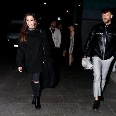 Ana Guerra y Ricky Merino en el concierto de Isabel Pantoja