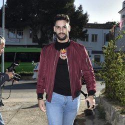 Asraf Beno en el cumpleaños del hijo de Chabelita Pantoja, Albertito