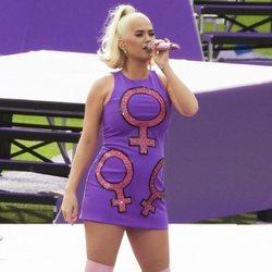 Katy Perry reaparece en Melbourne tras anunciar que está embarazada