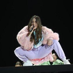 Eva Barreiro en la gala 8 de 'OT 2020'