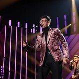 Flavio durante su actuación en la gala 8 de 'OT 2020'