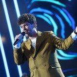 Jesús Rendón en su actuación de la gala 8 de 'OT 2020'