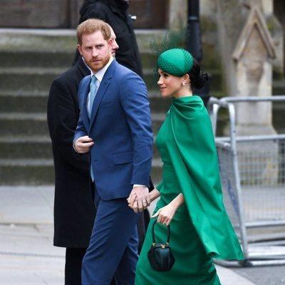 El Príncipe Harry y Meghan Markle en el Día de la Commonwealth 2020