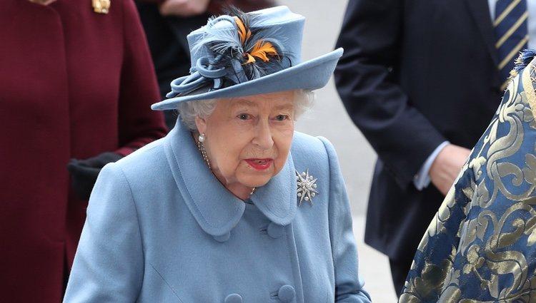La Reina Isabel en el Día de la Commonwealth 2020