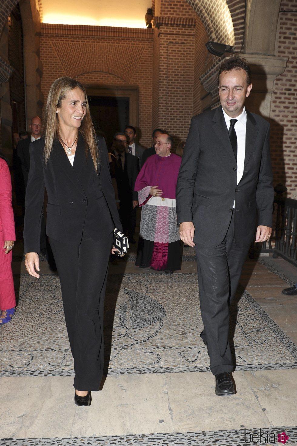 La Infanta Elena y Carlos de Habsburgo-Lorena