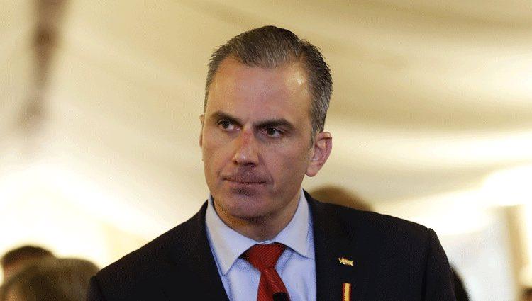 Javier Ortega Smith en la celebración del Día de la Constitución 2019 en Madrid