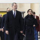 Los Reyes Felipe y Letizia en el homenaje en París por la Jornada Europea de Víctimas del Terrorismo